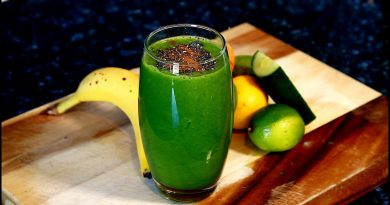 Boosting Your Immune System With A Green Smoothie | And Detox Your Body | Chef Ricardo Cooking