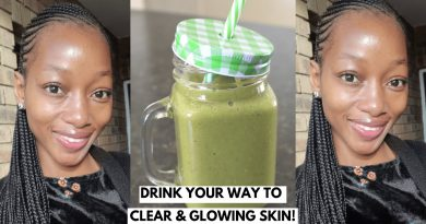 DRINK YOUR WAY TO CLEAR & GLOWING SKIN! |  GREEN SMOOTHIE RECIPE FOR HEALTHY SKIN