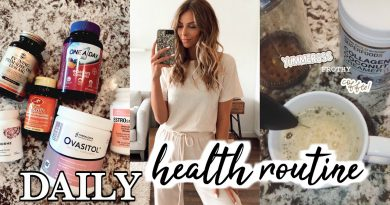 Daily Health Routine | A Morning In My Life | Supplements, Coffee, Skincare