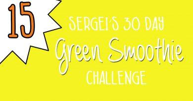 Green Smoothie Challenge Day 15 (original green smoothie recipe)
