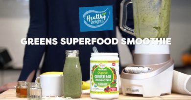 Greens Superfood Smoothie Recipe