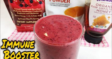 HOW TO BOOST YOUR IMMUNE SYSTEM WITH SUPERFOOD SMOOTHIE (Healthy lifestyle)
