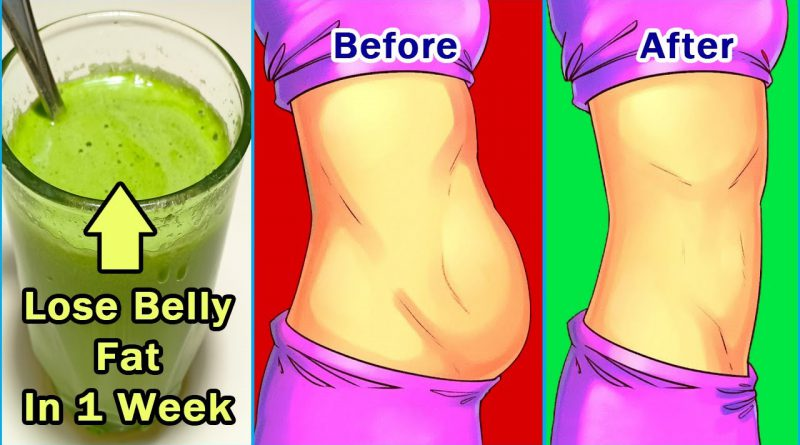 How To Lose Belly Fat In 1 Week, Drink This Every Morning For 7 Days To Lose Belly Fat