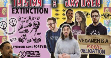 Jay Dyer & Tristan   vegan debate tactics debunked