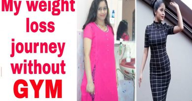 My weight loss journey no gym no diet no stress Lose weight Naturally Be natural