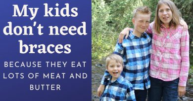 Our Meat Heavy Diet: My Kids Don't Need Braces