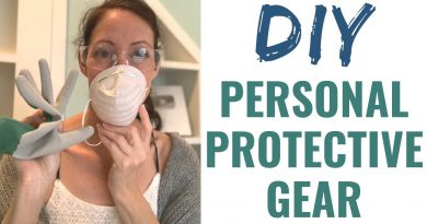 Protect Yourself & Home:  DIY Personal Protective Equipment & DIY Face Mask PDF
