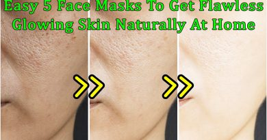 Quick And Easy 5 Face Masks To Get Flawless Glowing Skin Naturally At Home