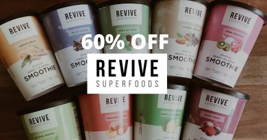 Revive Superfoods Ready to Blend Smoothies first impression/ Review