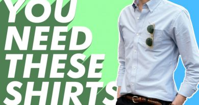 Shirts Every Man Should Own (6 Shirts You Need in Your Closet In 2020)