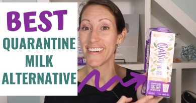 The BEST Healthy Non-Perishable Dairy Free Milk Alternative for Your Quarantine Pantry