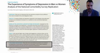 Assessing Depression in Men - Male Depression Risk Scale (MDRS 22) and the PHQ-9.