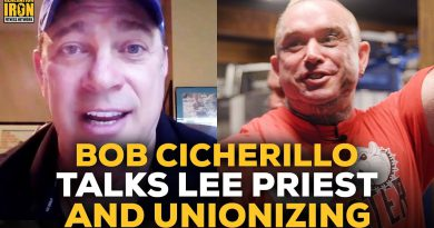 Bob Cicherillo Reveals The Truth About Lee Priest & Creating A Bodybuilders' Union