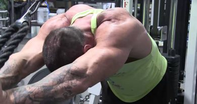 Bodybuilding Documentary - show preparation