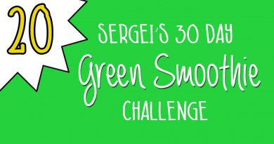 Green Smoothie Challenge Day 20 (plus how to eat a quince)