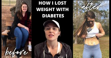 How I Lost Weight With Type 1 Diabetes | Weight Loss Journey