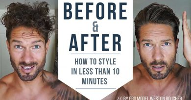 How To Style Men's Hair Like A Pro In Less Than 10 Minutes : Hairstyle Tips by LA Model