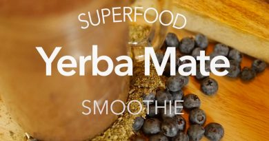 How to Make a Superfood Smoothie with Guayaki Yerba Mate
