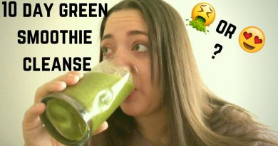 I TRIED THE 10 DAY GREEN SMOOTHIE CLEANSE || RESULTS & REVIEW