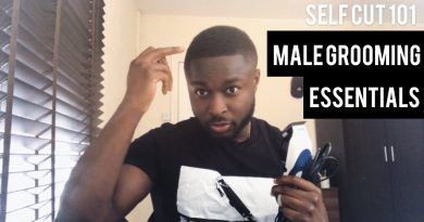 Male grooming 101 (essential tools for cutting your own hair/beard on a budget)