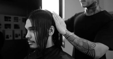 Men's Lifestyle: Long Hair Style Story - MITCH®