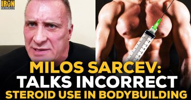 Milos Sarcev: The Difference Between Correct And Incorrect Steroid Use In Bodybuilding