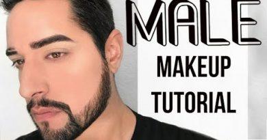 Natural Makeup tutorial for men - Natural everyday mens makeup. Male grooming *Robert Welsh*