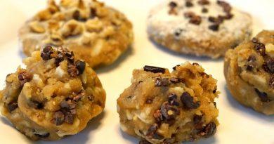 Raw Vegan Cookie Dough Recipe YUUUM!