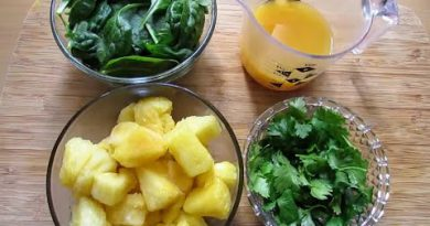 Simple Green Smoothie Recipe To Help Boost Your Immune System