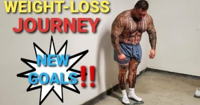 "WEIGHT-LOSS JOURNEY | NEW GOALS ( WEEK 1) WEIGH IN - 3 KEY SUPERSETS FOR ""BIG ARMS"""