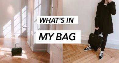 WHAT'S IN MY BAG 2017 ||MEN'S LIFESTYLE ||comme of style