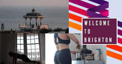 Welcome to Brighton!   Weightgain, HIIT Workout, My Fav Green Smoothie and a Chit Chat
