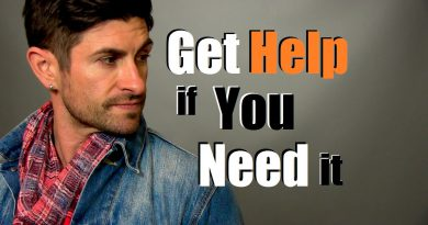 You Deserve To Be Happy... Get Help If You Need It! Anxiety and Depression