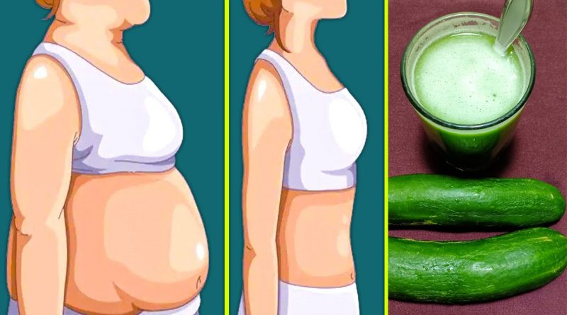 100% effective cucumber weight loss drink - fast weight loss and lose belly fat