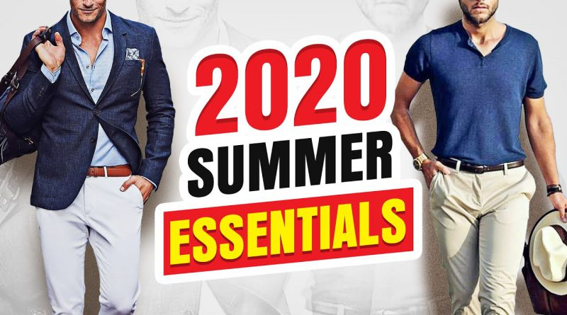 15 Summer Essentials Every Guy Should Own In 2020