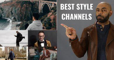 8 Best Men's Style YouTube Channels 2019