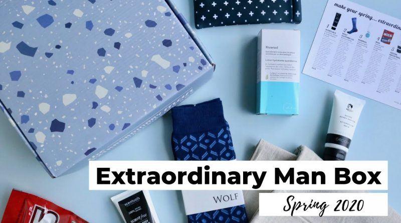 Extraordinary Man Box Unboxing Spring 2020: Men's Lifestyle Subscription Box