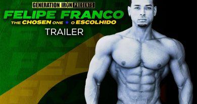 Felipe Franco: The Chosen One - Official Release Trailer (HD) | Bodybuilding Documentary