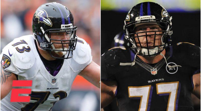 Former Ravens offensive linemen share weight loss journey after the NFL | NFL on ESPN