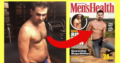 From Fat to Men's Health Cover Model - Body Transformation