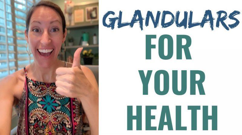 Glandulars For Improved Immunity, Stress & Metabolic Function Optimization