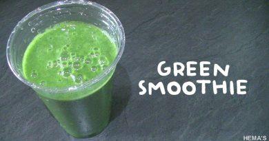 Healthy Green Smoothie recipe in tamil/Healthy green juice