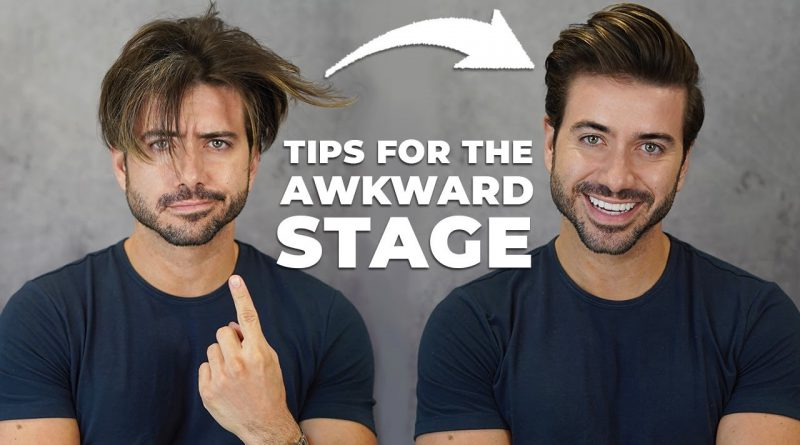 How To Get Through the Awkward Stage   Men's Hairstyle 2020   Alex Costa