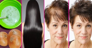 How To Grow Long Thick Hair With Onion Juice, Hair Regrowth Using Onion Juice, Hair Fall Control