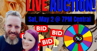 LIVE AUCTION - Let's Put A Spin On It! - Storage Unit Finds Going To The Highest Bidder