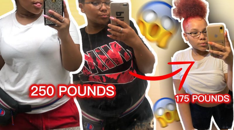 MY WEIGHT LOSS JOURNEY : 250 to 175 POUNDS !