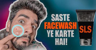 Maine 30 days SLS FACEWASH use kiya or ye RESULTS rahe! SLS facewash effects on skin