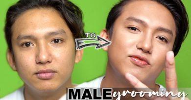 Male Grooming (Quarantine Edition) Pageant Makeup   Salon de V   Vanessa Tinitigan