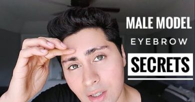 Male Grooming Tips | How To Get Thicker Model Eyebrows