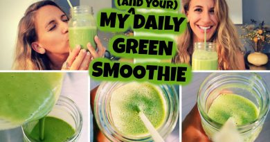 My Daily Green Smoothie (& YOUR Daily Green Smoothie, Too!)
